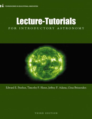 Lecture- Tutorials for Introductory Astronomy 9780321820464