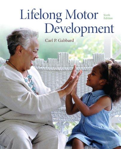 Lifelong Motor Development 9780321734945