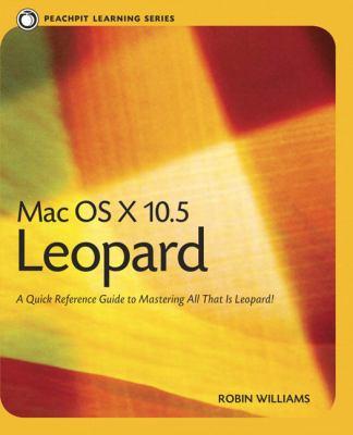 Mac OS X 10.5 Leopard 9780321502636