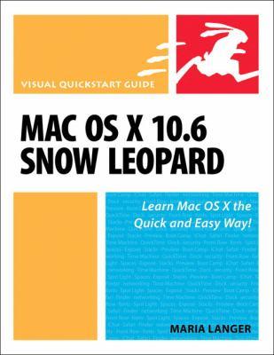 Mac OS X 10.6 Snow Leopard 9780321635396