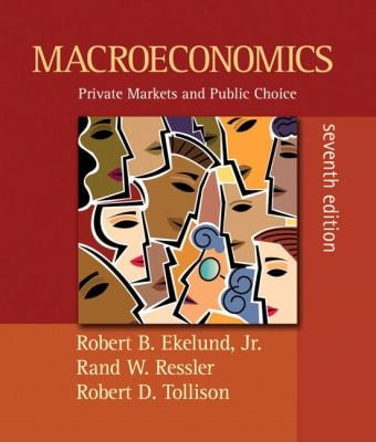 Macroeconomics: Private Markets and Public Choice 9780321454676