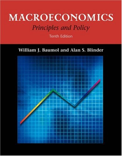 Macroeconomics: Principles and Policy [With Infotrac]