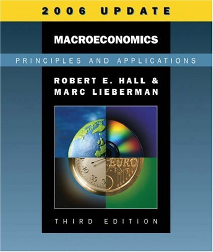 Macroeconomics: Principles and Applications [With Infotrac] 9780324374247