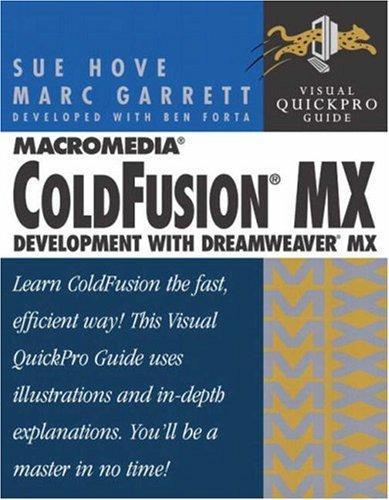 Macromedia Coldfusion MX: Development with Dreamweaver MX 9780321158024