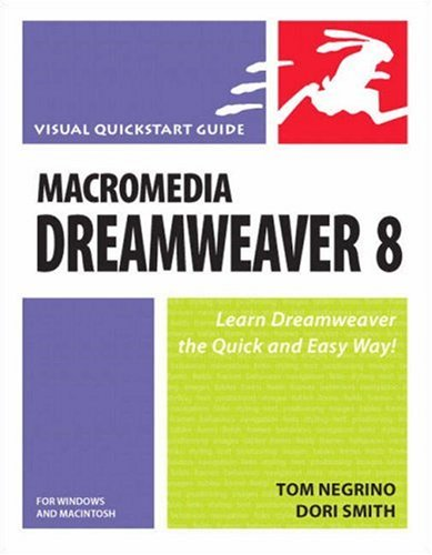 Macromedia Dreamweaver 8 for Windows and Macintosh 9780321350275