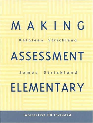 Making Assessment Elementary 9780325002002
