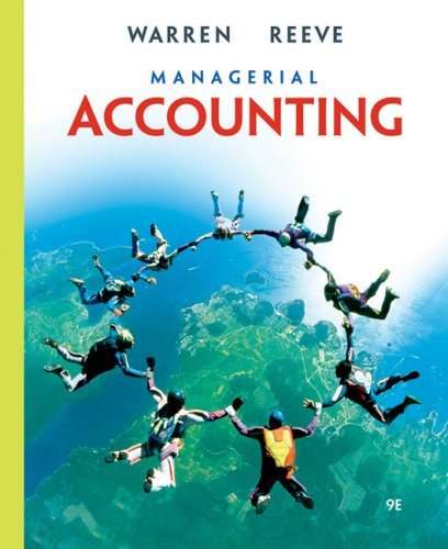 Managerial Accounting 9780324381917