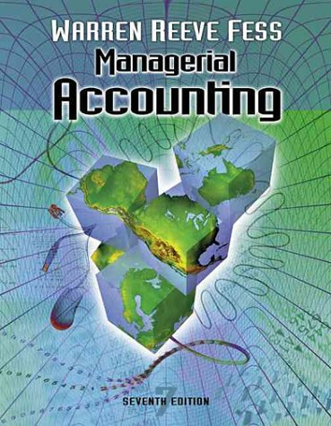 Managerial Accounting 9780324025385