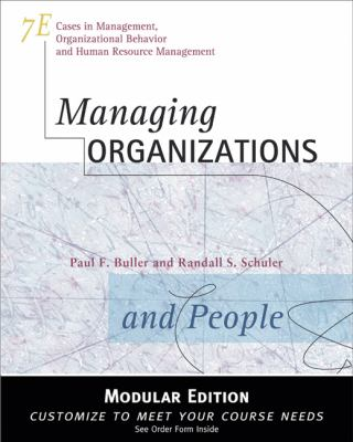 Managing Organizations and People 9780324314571
