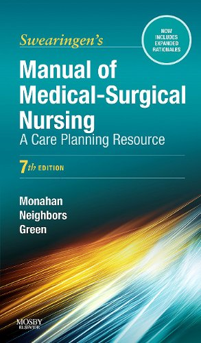 Manual of Medical-Surgical Nursing: A Care Planning Resource 9780323072540