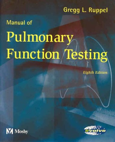 Manual of Pulmonary Function Testing 9780323020060