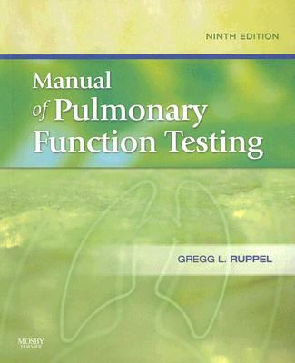 Manual of Pulmonary Function Testing 9780323052122