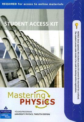 Mastering Physics: University Physics Student Access Kit 9780321500281