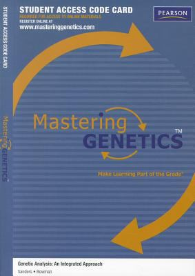 Genetic Analysis Student Access Code Card: An Integrated Approach 9780321707093