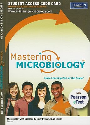 Microbiology with Diseases by Body System Student Access Code Card 9780321716347