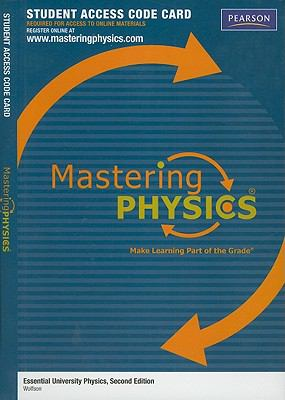 Essential University Physics, Student Access Code Card 9780321711618