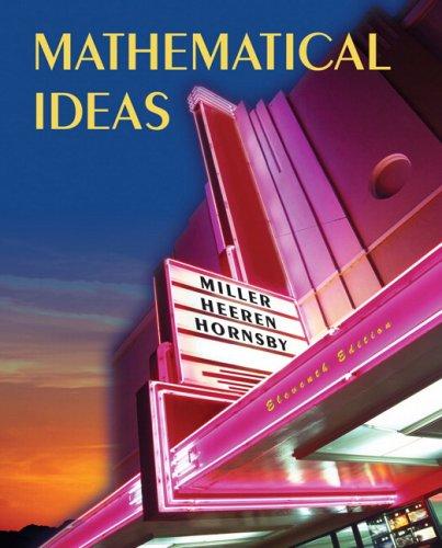 Mathematical Ideas 9780321361486