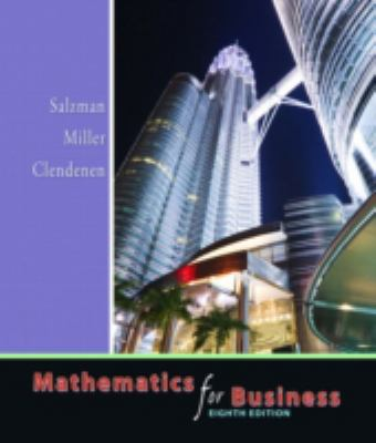 Mathematics for Business 9780321357434