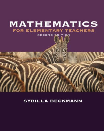 Mathematics for Elementary Teachers Plus Activities Manual 9780321447173