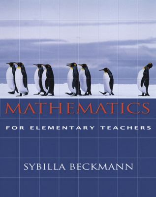 Mathematics for Elementary Teachers [With Activities Manual] 9780321357731