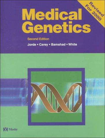 Medical Genetics 9780323012539