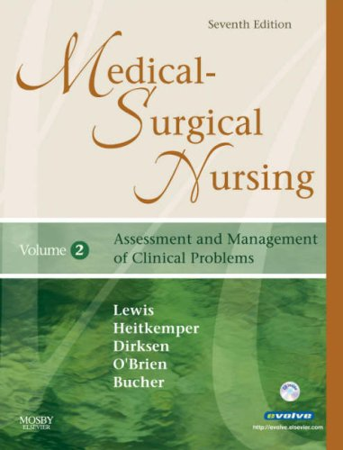 Medical-Surgical Nursing: Assessment and Management of Clinical Problems, 2-Volume Set 9780323036887