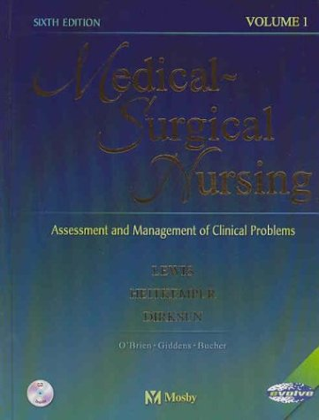 Medical-Surgical Nursing: Medical-Surgical Nursing: Assessment and Management of Clinical Problems - 2-Volume Set [With CDROM] 9780323016117