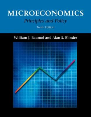 Microeconomics: Principles and Policy (with Infotrac) [With Infotrac] 9780324221152