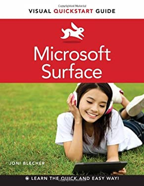 Microsoft Surface: Visual QuickStart Guide 9780321887320
