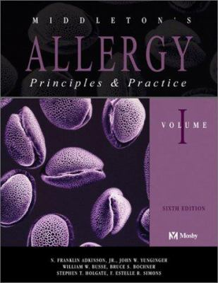 Middleton's Allergy: Principles and Practice E-Dition: Text with Continually Updated Online Reference, 2-Volume Set 9780323014250