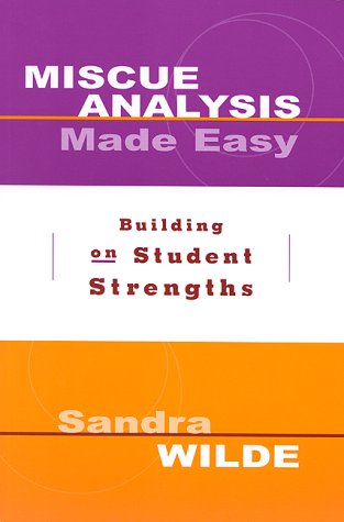 Miscue Analysis Made Easy: Building on Student Strengths 9780325002392
