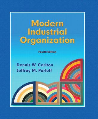 Modern Industrial Organization 9780321180230