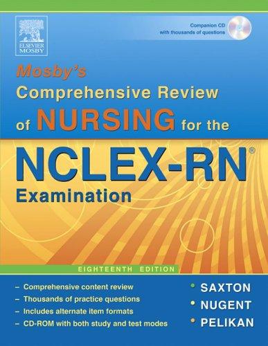 Mosby's Comprehensive Review of Nursing for NCLEX-RNA(R) 9780323039017