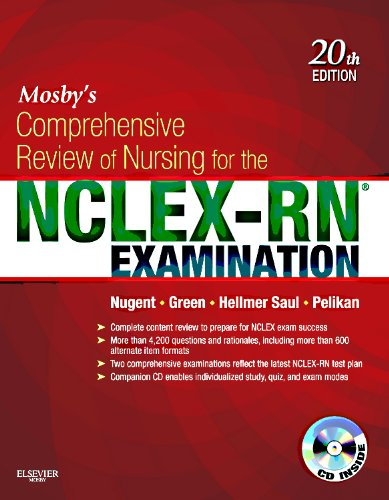 Mosby's Comprehensive Review of Nursing for the NCLEX-RN Examination [With CDROM]