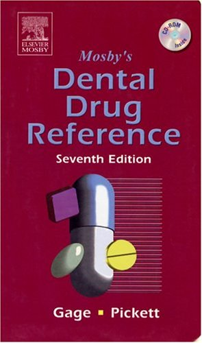 Mosby's Dental Drug Reference [With Mini CDROM] 9780323032049