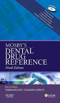 Mosby's Dental Drug Reference [With Mini CDROM] 9780323065207
