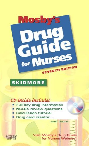 Mosby's Drug Guide for Nurses [With CDROM] 9780323045933
