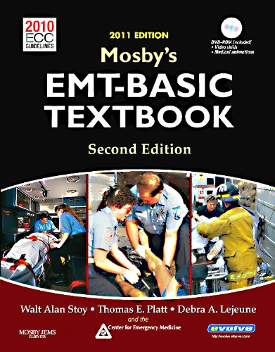 Mosby's EMT-Basic Textbook: 2010 ECC Guidelines [With DVD ROM] 9780323085298
