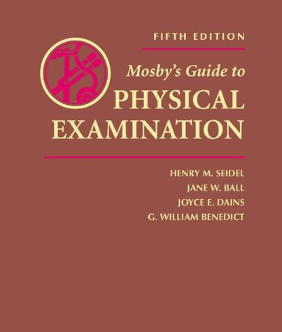 Mosby's Guide to Physical Examination 9780323016803