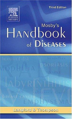 Mosby's Handbook of Diseases 9780323030113