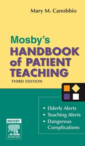 Mosby's Handbook of Patient Teaching 9780323032087