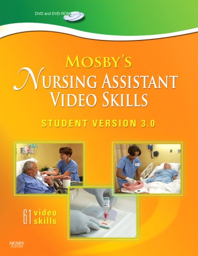 Mosby's Nursing Assistant Video Skills: Student Version 3.0 9780323056946