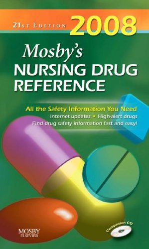 Mosby's Nursing Drug Reference [With CD-ROM] 9780323047005