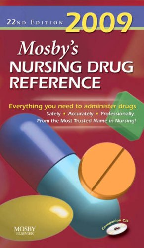 Mosby's Nursing Drug Reference [With CDROM] 9780323047029