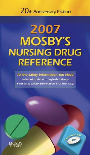 Mosby's Nursing Drug Reference [With Companion CD] 9780323045902