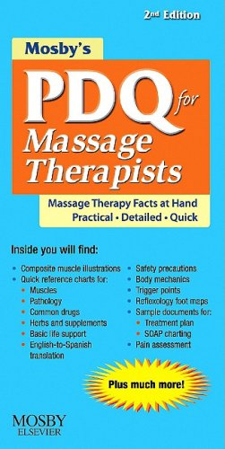 Mosby's PDQ for Massage Therapists 9780323063647