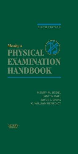 Mosby's Physical Examination Handbook 9780323032315