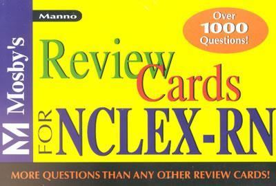 Mosby's Review Cards for NCLEX-RN. 9780323019033