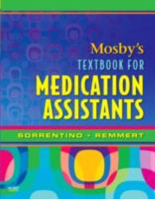 Mosby's Textbook for Medication Assistants 9780323046879