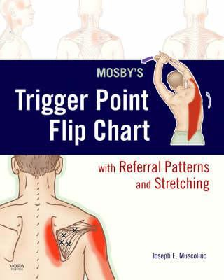 Mosby's Trigger Point Flip Chart with Referral Patterns and Stretching 9780323051705